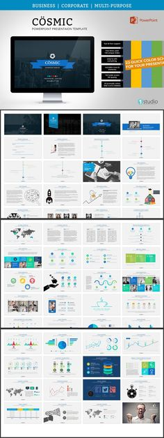 plantillas para crear informes, dossier, folletos y propuestas, Presentation templates