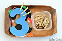 Numbers and fine motor