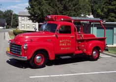 ◆Boston, NY FD 1950 GMC/Young Fire Equipment◆