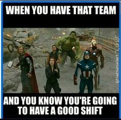 So true for my night crew!