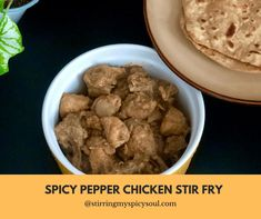 Spicy Pepper Chicken Stir Fry is a hot and spicy, ridiculously easy, delicious aromatic South Indian dish.Best paired with chapati's/roti's or with steamed rice and dhal.Made with just a handful of basic ingredients, this dish is perfect for a rainy days and during cold winter as it packs a punch.