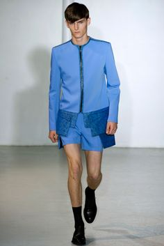 Mugler Spring 2013 Menswear Collection Slideshow on Style.com