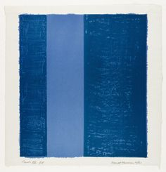 Barnett Newman, Canto VII from 18 Cantos, lithography (Museum of Modern Art, New York) Tachisme, Barnett Newman, Yves Klein, Action Painting, Richard Diebenkorn, Jackson Pollock, Abstract Expressionism, Abstract Art, Abstract Paintings