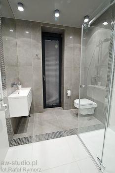 Nowoczesna łazienka na poddaszu. Sypialnia z łazienką aranżacja.  bathroom (attic)  Pinterest ...