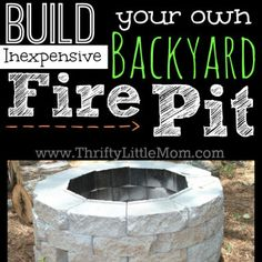 Do you want to know how to build a DIY outdoor fire pit plans to warm your autumn and make s'mores? Find 57 inspiring fire pit ideas in this article. Concrete Fire Pits, Fire Pit Backyard, Backyard Patio, Backyard Seating, Diy Patio, Gazebo, Diy Pergola, Pergola Ideas, Firepit Ideas