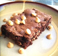 Peanut Butter Chip Brownies