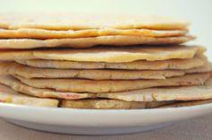 tortilla van kikkererwten meel