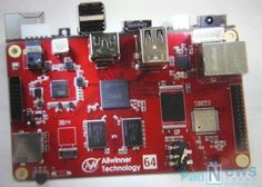 Allwinner Nobel64 64-bit Development Board Unveiled - Allwinner, explains that the new Nobel64 64-bit board has been specifically designed for developers looking to create tablets, notebooks, set-top-boxes, digital signage systems, or other systems that use the upcoming H64 processor.