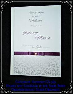 Gästebuch Hochzeit,Geschenk,Beere GB 585