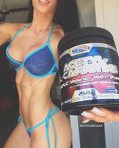 Is this in your supp stack!?😛 A little about Acetyl L-Carnitine... This supplement supports performance, stamina & fat metabolism.. It is involved in processing fat for use as energy in cells such as skeletal & cardiac muscle. 🌟 Available from  @apsnutrition - - - #apsnation #teamhitech #aussiestrong #fitness #motivation #fitspo #healthy #bikinimodel #athlete #weights #gymlife #gains #physique #body #fit #summer #booty #goodvibesonly #inspire #empower #motivate