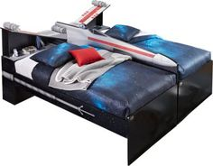 <i>Star Wars< i> X-wing™ Black Side-by-Side 6 Pc Twin Bookcase Bed Package  . $1,199.00. 89.25L x 81.5W x 44.75H. Find affordable Twin Beds for your home that will complement the rest of your furniture.