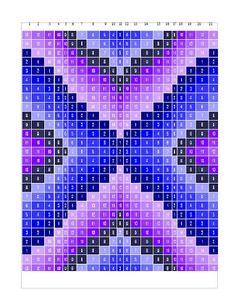 LiL' Becks Corner: My Lil Bargello ( free pattern )