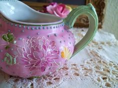 Little Vintage Creamer Pitcher