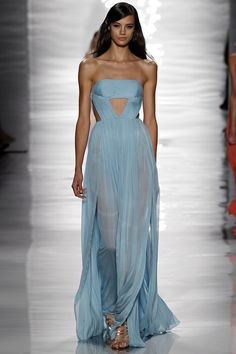 Blue beautiful Reem Acra  2015
