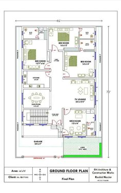 2bhk House Plan, House Plans Mansion, Free House Plans, Simple House Plans, Beautiful House Plans, Model House Plan, Duplex House Plans, House Layout Plans, Family House Plans