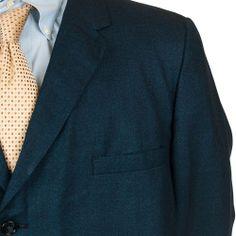 Vintage SharkSkin Suit Blue Black Blazer Pants Mod Trousers 3 Button  #MikeMartin #Suit #Blazer #Pants #MensSuit #SomeLikeItUsed