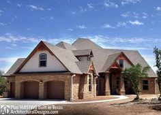 Jaw Dropping Mix Of Ranch Amp Craftsman Style Home Hq Plan
