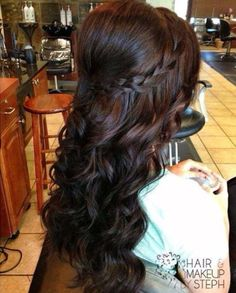 Long with braid