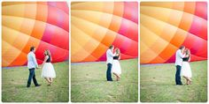 St. George Wedding Photographer | Engagement Session | Bradley & Jordin and a Hot Air Balloon
