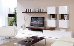 meuble tv avec étagères