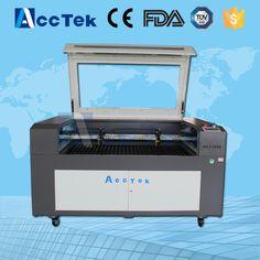 AKJ1390-2 60w co2 laser cutting machine, cloth co2 laser cutters price for sale #Affiliate