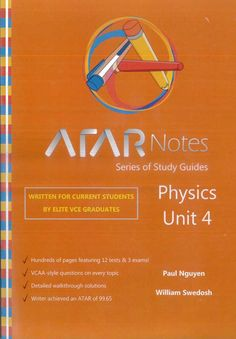 The ATAR Notes Accounting Units 3&4 Study Guide is the