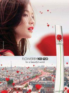 Shu Qi for Flower by Kenzo Fragrance 2013 Campaign   FashionMention