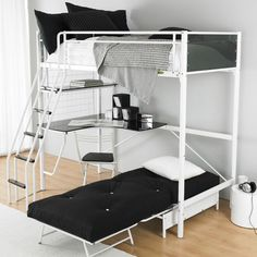House Additions Peek Futon Bunk Bed & Reviews | WF