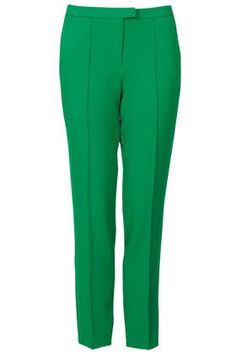 Pop some color into a party outfit - Shower baby or bridal - Topshop pants Trouser Outfits, Trouser Pants, Pajama Pants, Cigarette Trousers, Office Outfits, Topshop, Sweatpants, Leggings, Style Inspiration