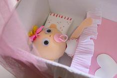 Cómo hacer un bebe con cuna de foamy o Goma Eva