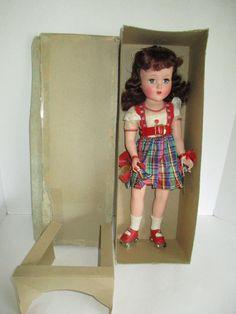 "Stunning Vintage 1950's Arranbee 17"" Nancy Lee Doll w/ Box & Original Outfit | eBay"