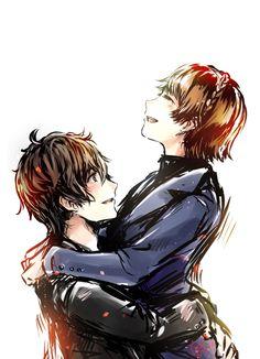 Persona 5 Akira Kurusu & Makoto Niijima