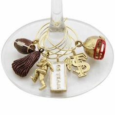 Amazon.com: Florida State Seminoles Ncaa Glassware Charm Set (Set Of 6): Sports & Outdoors