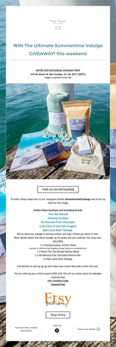 WIN The Ultimate Summertime Indulge   GIVEAWAY! this weekend