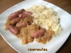 Salchichas al vino - Recetariocanecositas.com