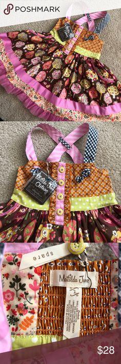 Matilda Jane Knot Dress Trees 2T NWT Brand new with tags. Smoke free, pet free home. Matilda Jane Dresses