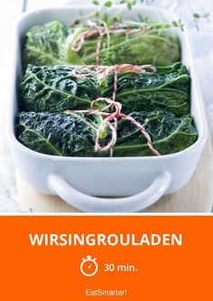 Wirsingrouladen - smarter - Zeit: 30 Min. | eatsmarter.de