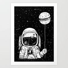 Aesthenia Art Print by Alejo Giraldo - $19.00