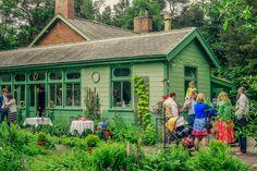 Mandy Charlton - Photographer, Explorer, Writer, Traveller, Blogger: Dan and Claire, A Garden Station Wedding, Langley near Hexham, Northumb...