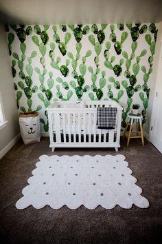 Nursery, cactus nursery, baby boy, gender neutral, anewall decor