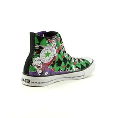 The Joker Converse - Notice the HAHAHAHHAH at the bottom