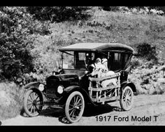 Henry Ford's Model T: During the emergence of modern America, Henry Ford became a major figure in society due to the introduction of the car, the Model T, through his company known as Ford.