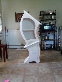 Alice in Wonderland furniture, I want one. No. I need one.
