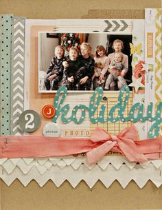 Studio Calico Country Fair Jen Jockisch This Week by lifelovepaper at Studio Calico scrapbook page Hello There Snap Pocket Card by pixnglue . School Scrapbook, Baby Scrapbook, Scrapbook Paper Crafts, Scrapbook Pages, Scrapbook Photos, Heritage Scrapbooking, Scrapbooking Layouts, Christmas Scrapbook, Christmas Layout