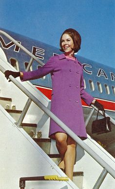 "Remember when the name ""stewardess"" wasn't politically incorrect?"