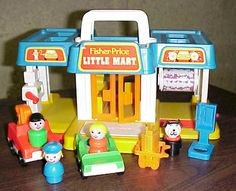 Little People Little Mart (we had this! It was my favorite Little People thing besides the house and zoo)