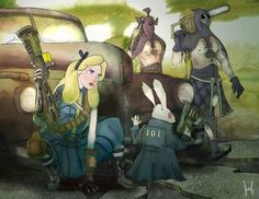 Fallout New Vegas - Alice in Wasteland