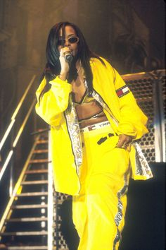 20 Outfits Only Aaliyah Could Pull Off - HarpersBAZAAR.com