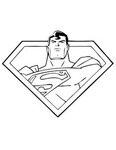 Hit In The Air Superman Coloring Pages Super Hero Coloring Pages