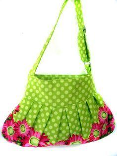 The Pleated Mara Shoulder Bag - PDF Sewing Pattern